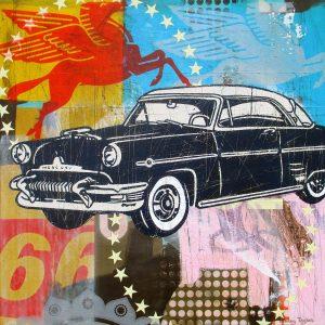 Vintage 1950 Mercury