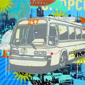 Los Angeles Metro city bus 217