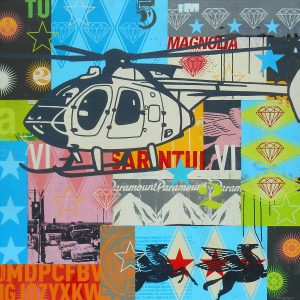 Helicopter artwork