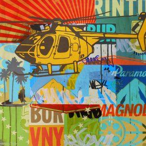 Helicopter artwork