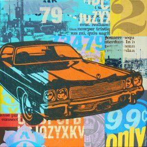 1970s auto painting