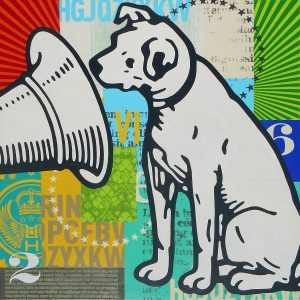 RCA dog artwork