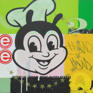 Jollibee painting by Johnny Taylor