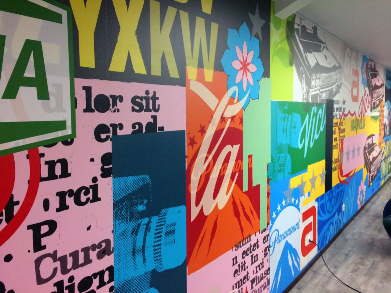 TUI Cruises mural